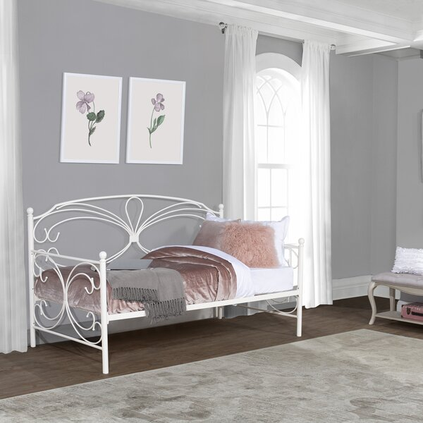 Burkburnett Twin Metal Daybed With Trundle By Astoria Grand