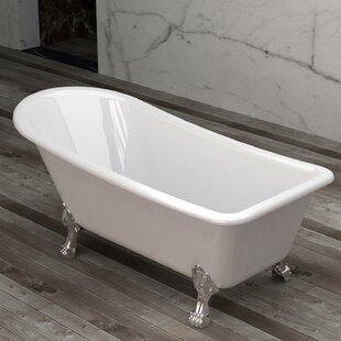 black and white clawfoot tub. Save to Idea Board  Jade Bath Clawfoot Tubs You ll Love Wayfair