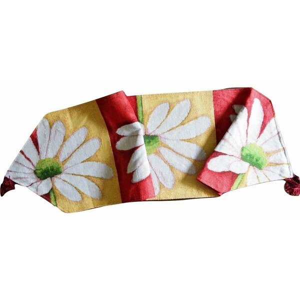 Loves Me Not Table Runner by Tache Home Fashion
