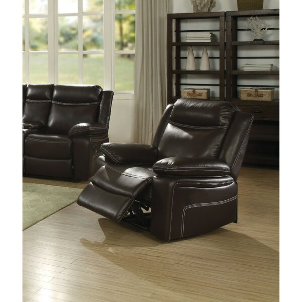 Menahan Contemporary Style Metal Recliner