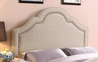 Queen/Full Upholstered Panel Headboard by Wildon Home ®