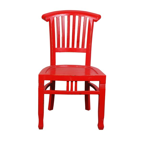 Shirly Cottage Slat Back Solid Wood Dining Chair (Set of 2) by August Grove August Grove