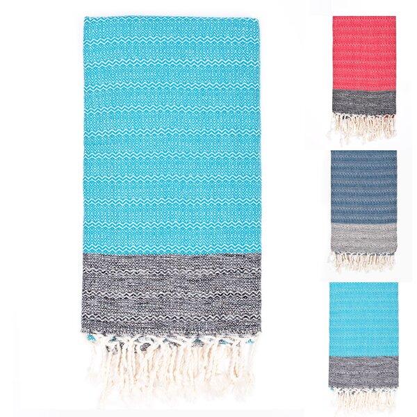 Premium Weave Peshtemal Rayon from Bamboo Beach Towel by Latitude Run