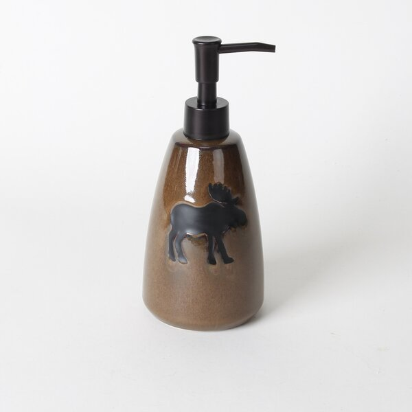 Silhouette Wildlife Lotion Dispenser by Saturday Knight, LTD