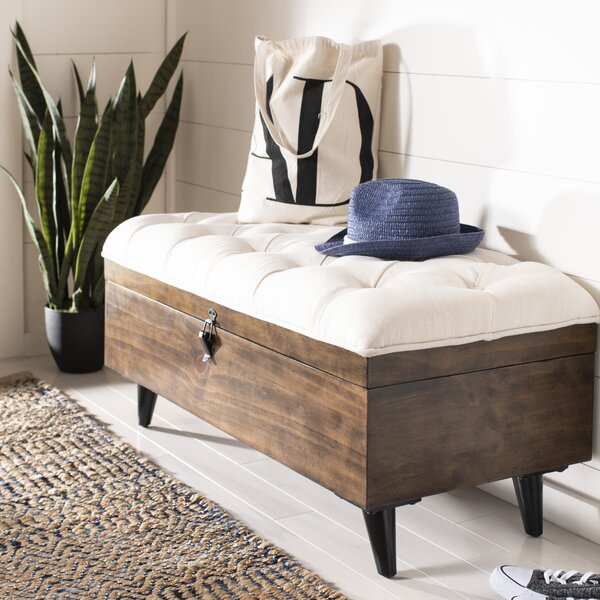 Union City Tufted Cocktail Storage Ottoman by Three Posts