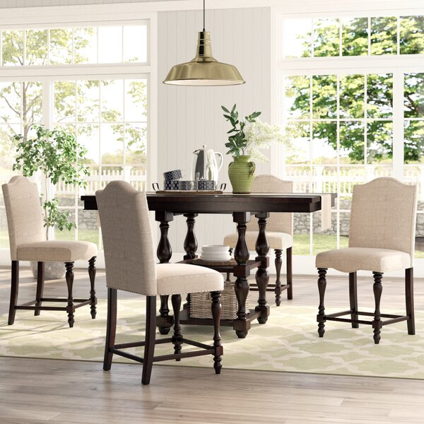 """Foster 5 Piece Counter Height Dining Set by Birch Laneâ""""¢ Heritage"""