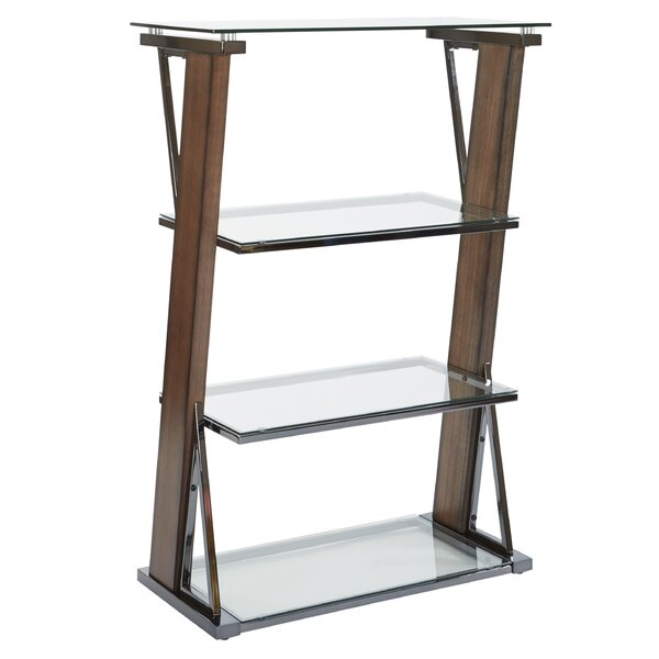 Caison Standard Bookcase by Wrought Studio