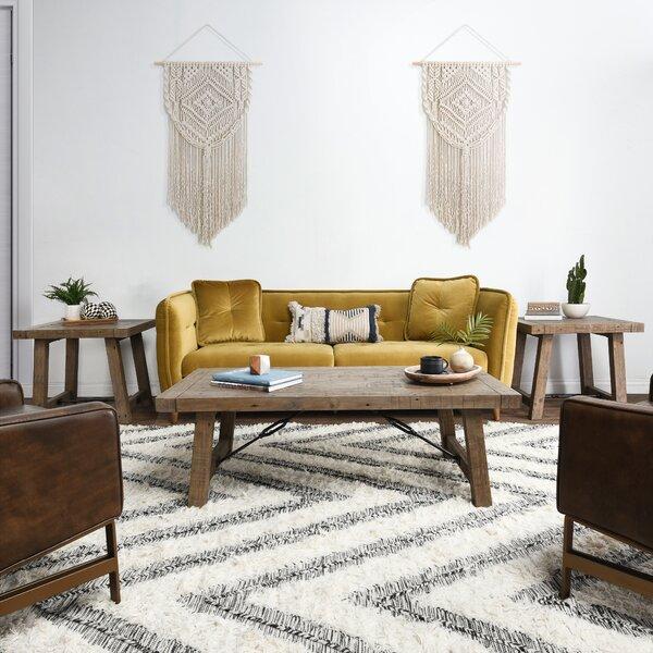Kellerman 3 Piece Coffee Table Set By Gracie Oaks