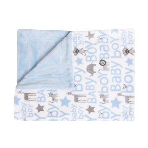 Archdale Printed Fleece Baby Blanket