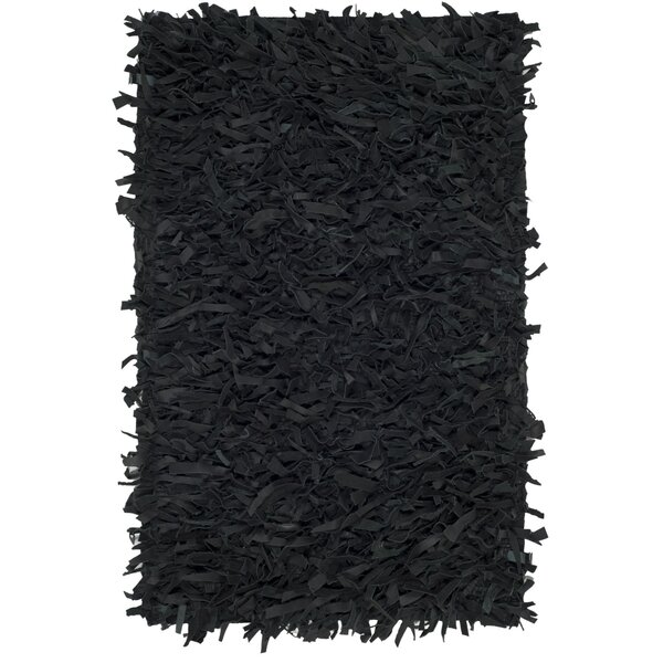 Albany Hand-Knotted Black Area Rug by Zipcode Design