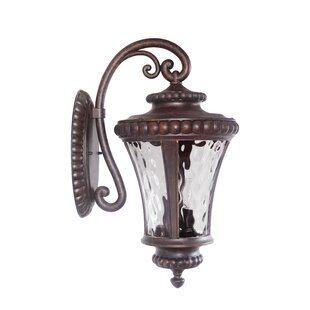Comparison Darla 3 Light Outdoor Wall Lantern By Fleur De Lis Living