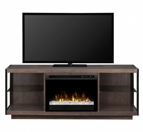 66.875 TV Stand with Fireplace by Dimplex