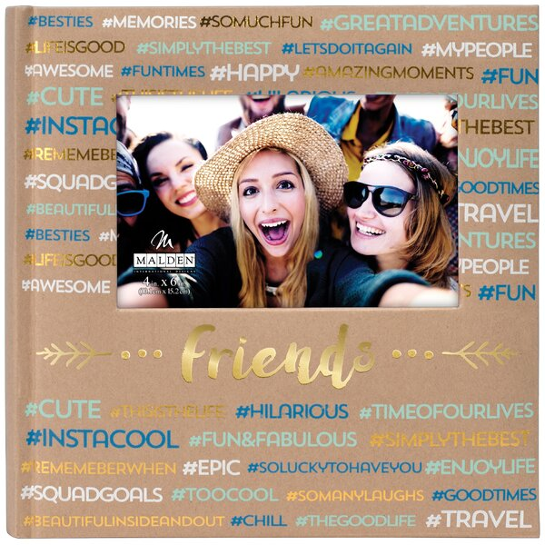 Friends Hashtag Album by Malden