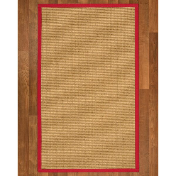 Lanie Hand-Woven Beige Area Rug by Highland Dunes