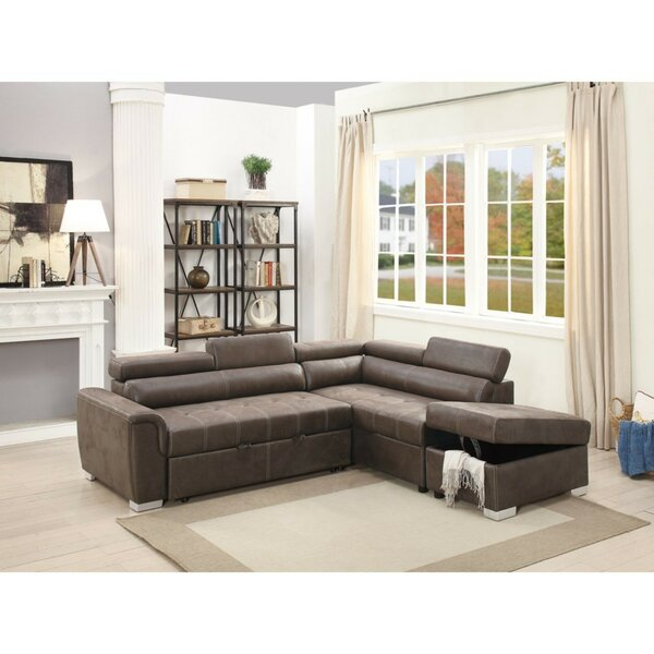 Mabry 2 Piece Convertible Sectional Set by Latitude Run