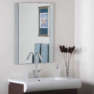 Starlight Frameless Wall Mirror by Decor Wonderland