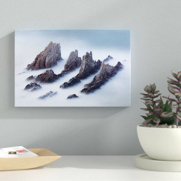 Crests And Valleys Photographic Print on Wrapped Canvas by Latitude Run
