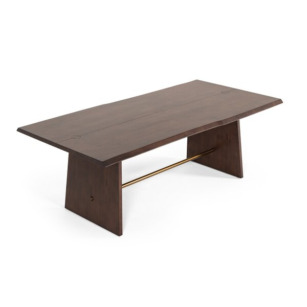 Eatmon Acacia Dining Table by Brayden Studio
