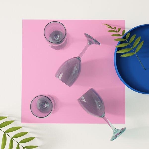 Emerick 8 oz. Plastic All Purpose Wine Glass (Set of 4) by Hashtag Home