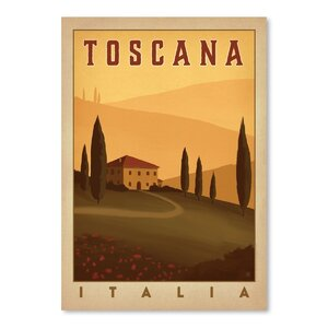 Tuscany Vintage Advertisement by East Urban Home