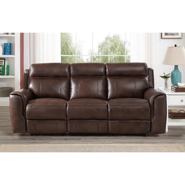 Home Décor Gurley Leather Reclining Sofa
