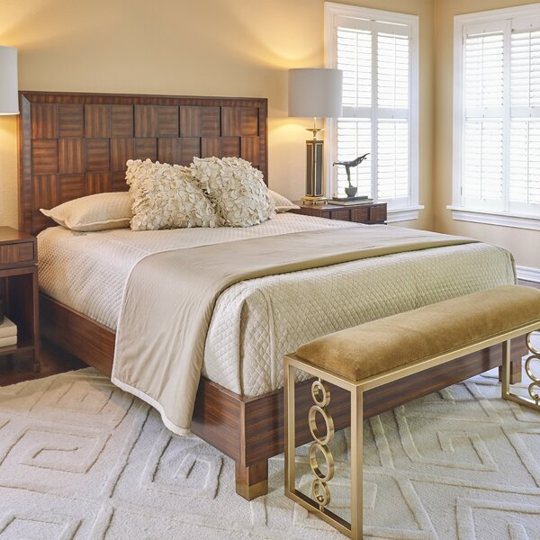 Block Standard Bed by Global Views