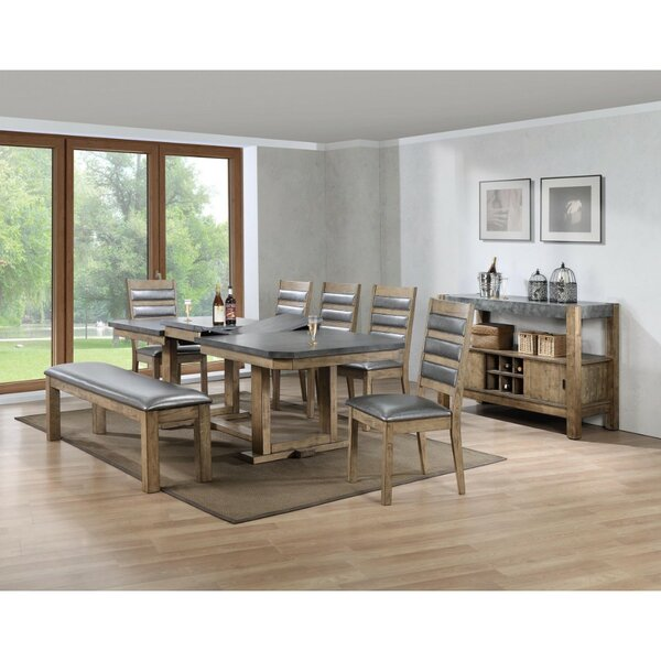 Whitehurst Multifunctional Wooden Dining Table by Millwood Pines