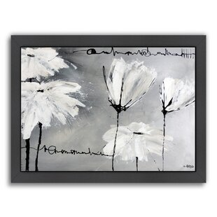 White flower painting wayfair white flowers framed painting print mightylinksfo