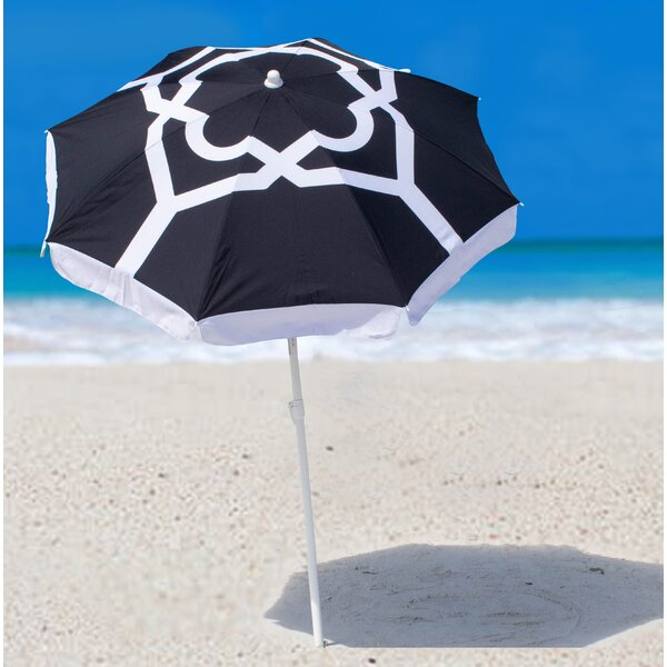 Oceana Strom Beach Umbrella by SittinPrettyLLC
