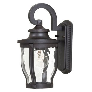 Affordable Porterfield 1-Light Outdoor Wall Lantern By Three Posts