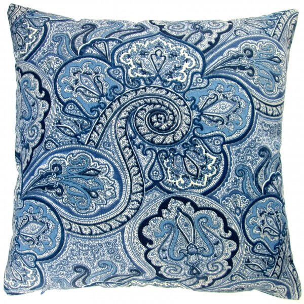 Paisley Geometric Coastal Beach Modern Contemporary Indoor/Outdoor Pillow Cover (Set of 2) by Artisan Pillows