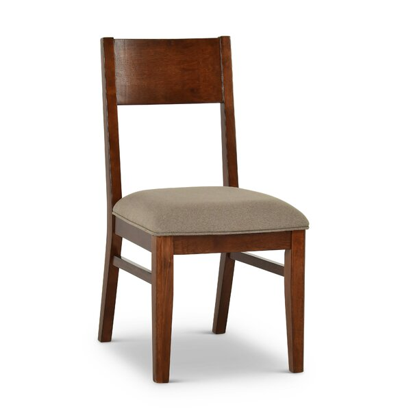 Lehto Upholstered Dining Chair (Set of 2) by Union Rustic