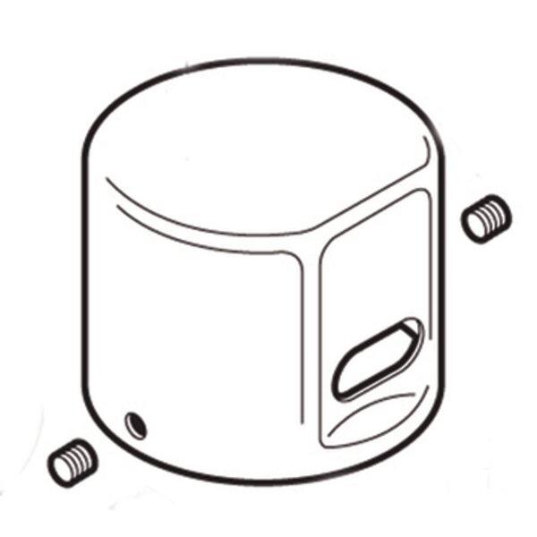 Commercial DC Flush Valve Cap by Moen
