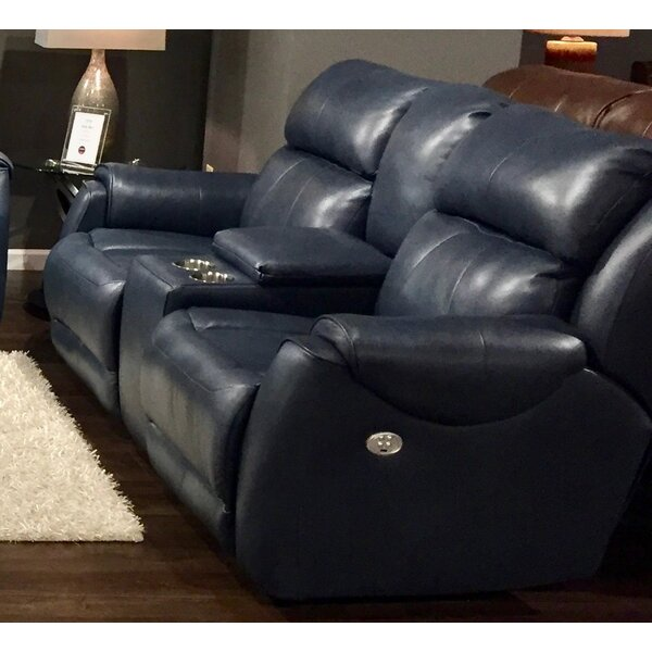 Safe Bet Leather Reclining Loveseat by Southern Motion
