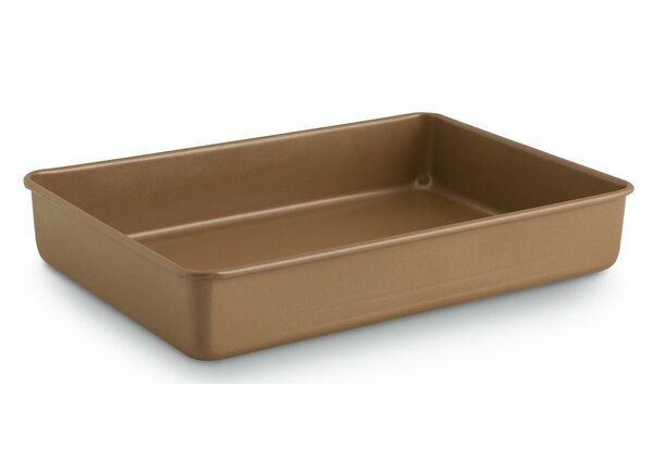 Simply Non-Stick Rectangle Bakeware Cake Pan (Set of 3) by Calphalon