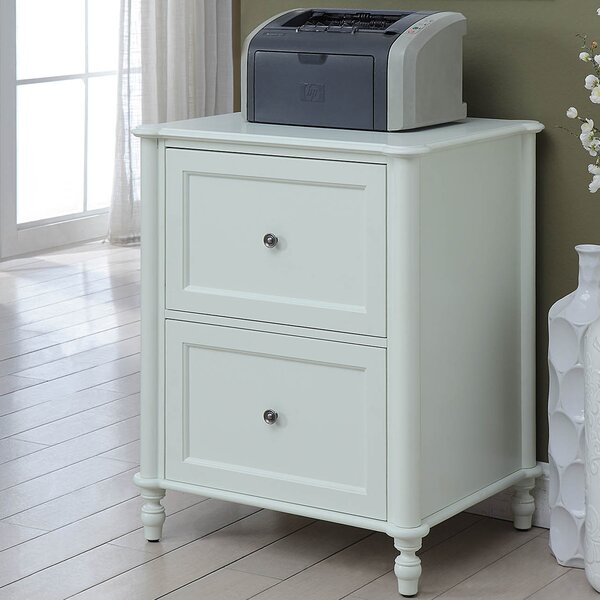 Anson 2 Drawer Vertical Filing Cabinet by Highland Dunes