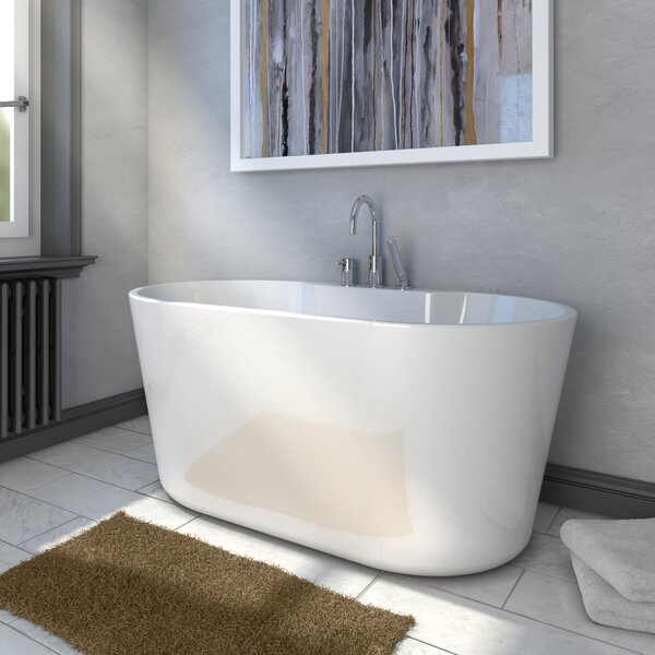 56 x 31 Freestanding Soaking Bathtub by A&E Bath a
