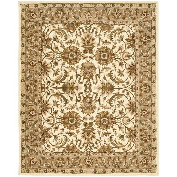 Santoro Hand-Knotted Wool Beige/Sage Area Rug