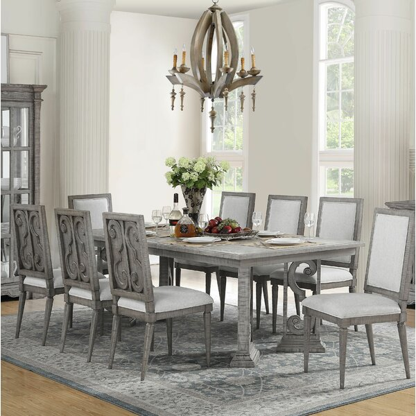 Candice 9 Piece Extendable Dining Set by One Allium Way One Allium Way