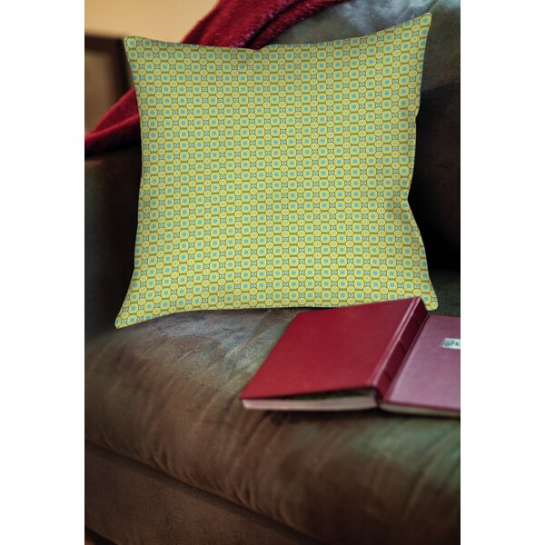 Rael Printed Throw Pillow by Wrought Studio