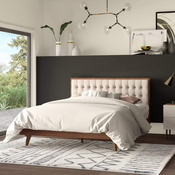 Elizabeth Street Upholstered Platform Bed by Mercury Row