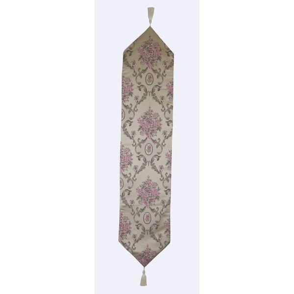 Ephraim Floral Pattern Handmade Table Runner by Astoria Grand