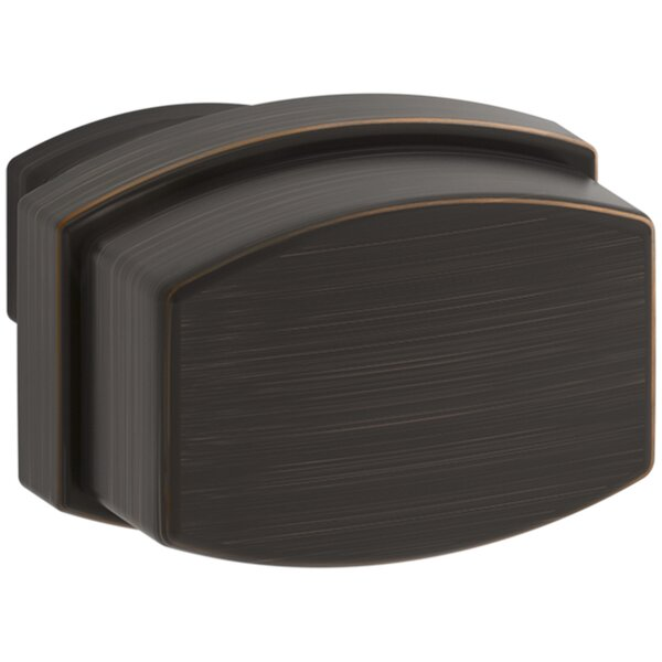 Bancroft Rectangle Knob by Kohler