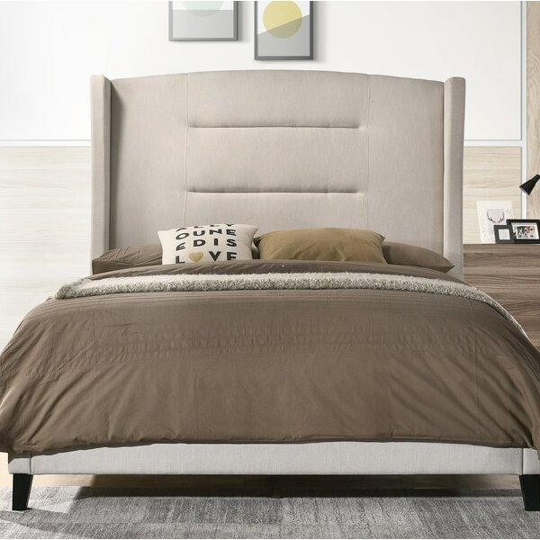 Jennie Queen Upholstered Standard Bed by Canora Grey