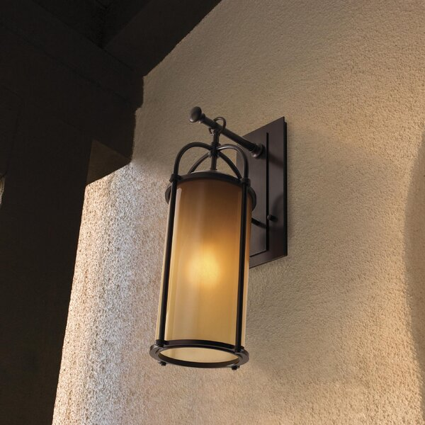 Espana 1-Light Outdoor Wall Lantern by Millwood Pines