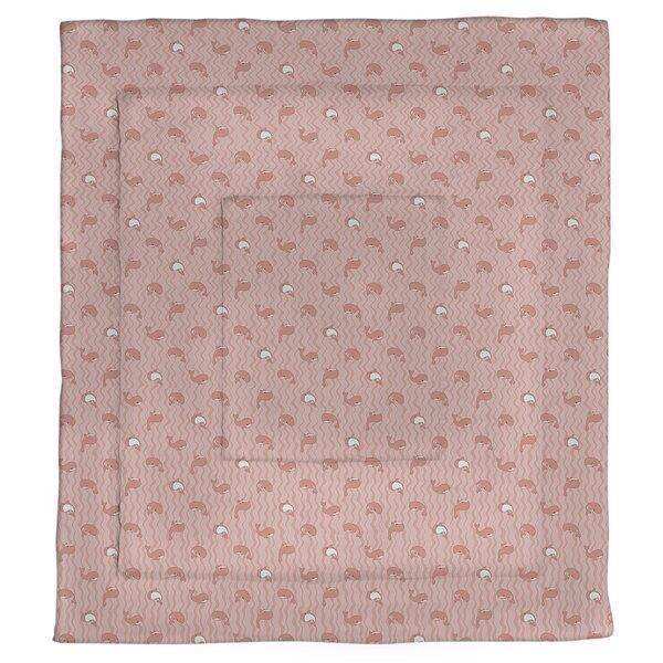 Mathias Whales Pattern Single Reversible Comforter