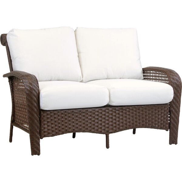 Allerdale Loveseat with Cushion by Bloomsbury Market