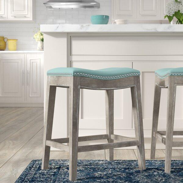 Enjoyable Price Check Russett 26 Bar Stool By Three Posts Cjindustries Chair Design For Home Cjindustriesco