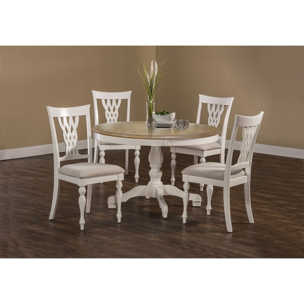 Carcassonne 5 Piece Dining Set by August Grove