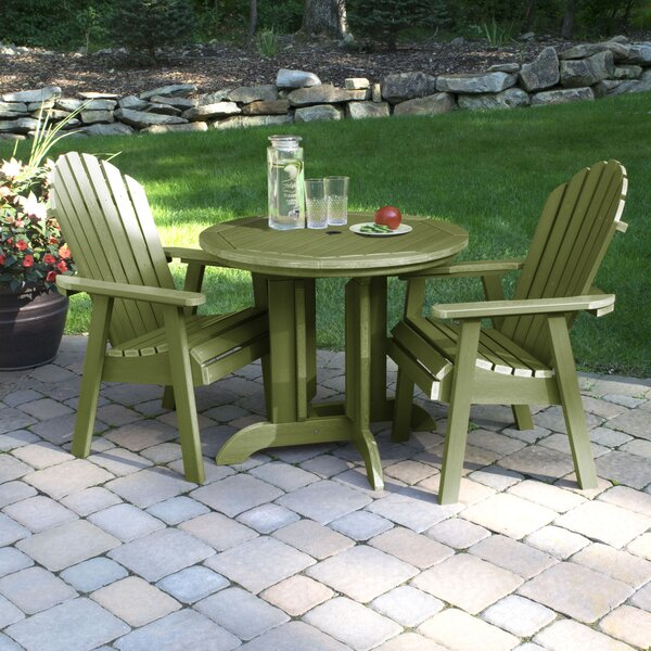 Magaw 3 Piece Dining Set by Longshore Tides